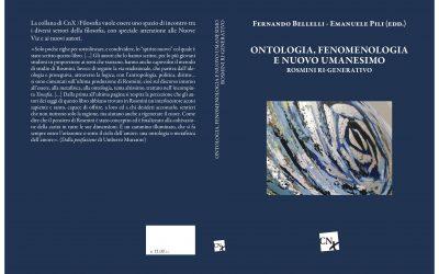 """La Civiltà Cattolica – """"Ontologia, fenomenologia e nuovo umanesimo"""""""