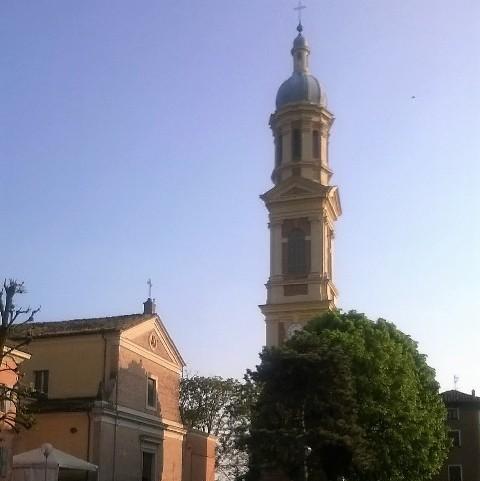 Parrocchia di Portile dove don Fernando è stato parroco dal 2009 al 2014