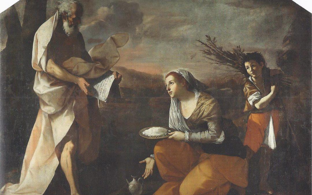 L'offerta della vedova ad Elia omelia don Fernando Bellelli
